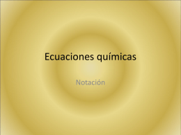 Ecuaciones químicas - IES Guillermina Brito