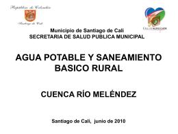 Agua Potable y Saneamiento Básico Rural