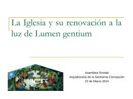 """""""El Contexto de la Iglesia hoy en América Latina y el Caribe""""."""