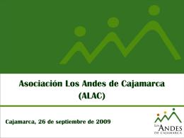 (ALAC)  - Asociación Los Andes de Cajamarca