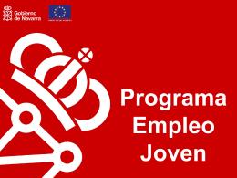 Programa de Empleo Joven en Navarra