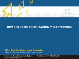 Joven Club Computación y Electrónica