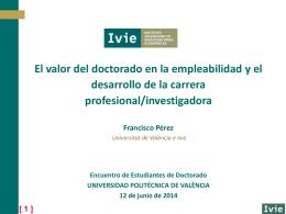 Presentación de PowerPoint - Universidad Politécnica de Valencia