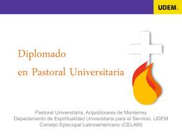 Diplomado en Pastoral Universitaria