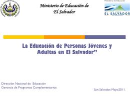 Modalidades Flexibles de Educación.