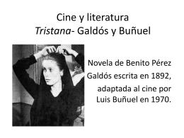 Cine y literatura Tristana