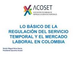 Pres_MERCADO LABORAL EN COLOMBIA CLETTYA