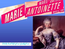 María Antonieta de Francia (Patricia García)