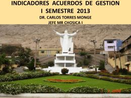 iag i semestre 2013 - (DISA) IV Lima Este
