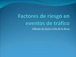 Factores de riesgo en eventos de tráfico