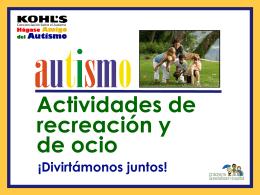 Diapositiva 1 - Children`s Specialized Hospital
