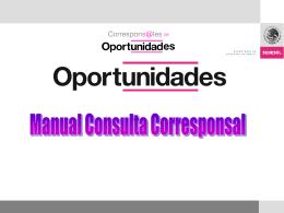 Diapositiva 1 - corresponsales de oportunidades