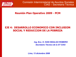 Comisión Interministerial de Asuntos Sociales