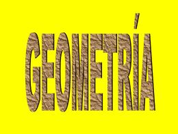 Materia para prueba geometría