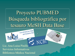 Proyecto Pubmed
