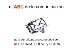 El ABC de la Comunicación