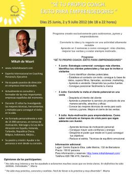 Diapositiva 1 - Mikah de Waart