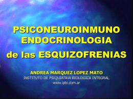 Esquizofrenia Neurobiología 2009 - Instituto de Psiquiatría Biológica