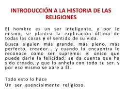 5TO_SEC_TEMA 3 historia de las religiones