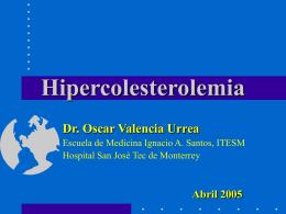 Colesterol - Cpnlac.org