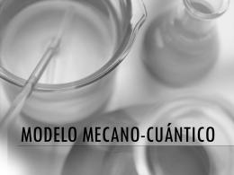 Modelo mecano-cuántico