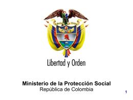 Previ - Atep Ministerio de la Protección Social