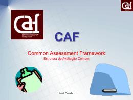 CAF – Estrutura Comum de Avaliação