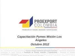 Derechos reservados Proexport Colombia 2012