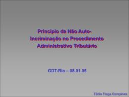 Apresentação Power Point - GDT