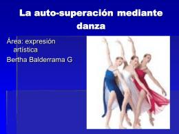 La Autosuperacion Mediante Danza