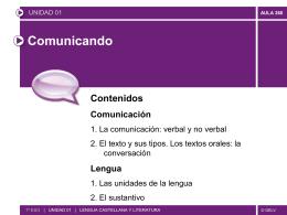 sustantivo - Colegio Fuentelarreyna