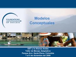 Qué es un Modelo Conceptual?