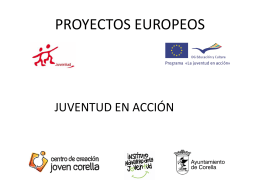 PROYECTOS EUROPEOS - Ayuntamiento de Corella