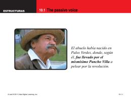 10.1 The passive voice