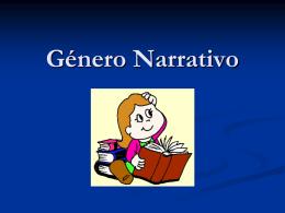 PPT Género Narrativo - Colegio Laico Valdivia
