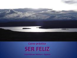 folleto curso SER FELIZ - León y Vergel Asesores