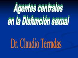 Agentes Centrales en el tratamiento de la DS Dr. Terradas