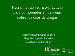 Presentación de PowerPoint - Ministerio de Desarrollo Social