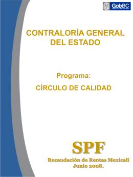 SPF Mexicali Junio 2008