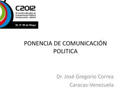 Artículo 29 - Cumbre Mundial de Comunicación Política
