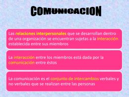 5) COMUNI