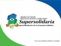 La experiencia de Colombia en los procesos de supervisión