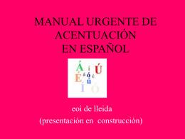 Teor__a_s__l_y_acent - Escola Oficial d`Idiomes de Lleida