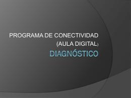 Programa de conectividad, Aula Digital