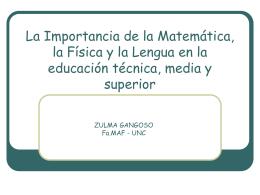 Enseñanza de la Física en la escuela media argentina