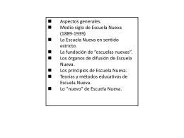 ESCUELA NUEVA - Instituto pestalozzi 4089