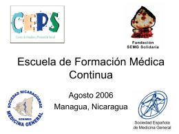 Escuela de Formación Médica Continua