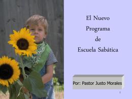 El Nuevo Curriculum de Escuela Sabática Infantil