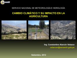 Constantino Alarcon Velazco - Universidad Nacional Agraria La