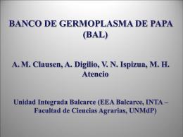 Clausen - Sociedad Argentina de Genética